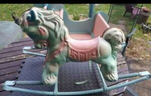 1960's Shoo-Fly Deluxe Rocking Horse by Wonder Products