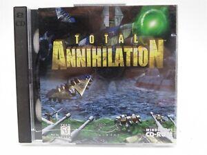 Total Annihilation - Windows 95 Software - 2 Discs