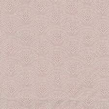A.U MAISON Wachstuch Alba Dusty Rose altrosa rosé Fächerornament 0,5Meter