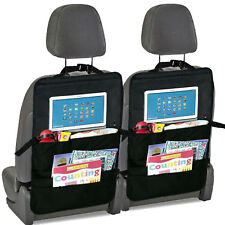 BTR Car Back Seat Organiser & Back Seat Tablet, iPad, Galaxy & DVD Holder x 2