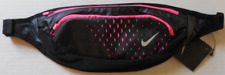 NIKE Essential Waistpack Color Black/Hyper Pink/Silver New