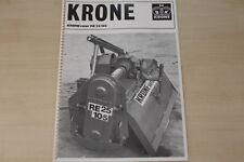 163234) Krone Kronevator RE 25/105 Prospekt 04/1982