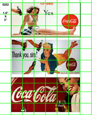 5202 DAVE'S DETAILS 3 ASST'D SODA 50's 60's BILLBOARD SIGNS on GLOSSY ART STOCK