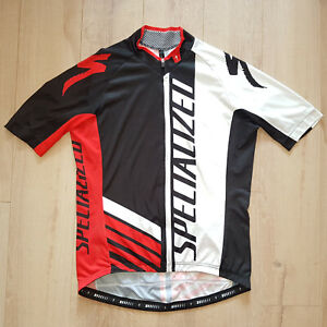 Specialized Full Zip Cycling Jersey Men Size XL