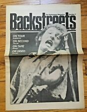 Backstreets - Springsteen Magazine # 3 RARE excellent condition FREE SHIPPING