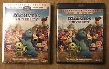 Monsters University (Blu-ray/DVD/Digital Copy, Collectors Edition) Disney NEW!