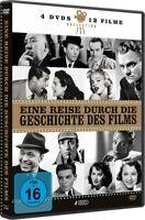 EINE REISE DURCH DIE GESCHICHTE DES FILMS-FRANK SINATRA;MARILYN MONROE 4DVD NEUF