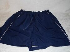 Reebok Shorts Running Gym Sexy Athletic Shorts With Drawstring Size M in Blue