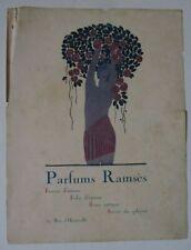 Publicité parfums Ramsès