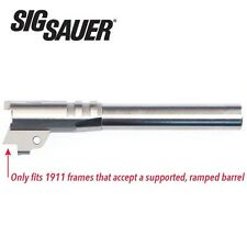 "Colt 1911 38 Super Barrel Sig Sauer NOWLIN WILSON Cut 5"" Stainless Steel Barrel"