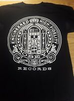 Obey Engineered High-Fidelity Records Graphic T-Shirt Men's S