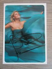 Helene Fischer original handsignierte Autogrammkarte / Musik T26