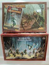 Warhammer AoS - Wood Elves - Glade Guard Eternal Guard Spellweaver - OOP - Rare
