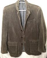 VTG POLO by Ralph Lauren Size L Mens Green Brown hunting Corduroy Blazer Jacket