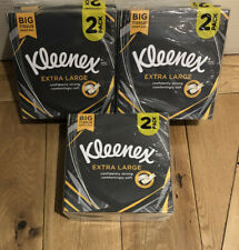 KLEENEX Tissues Extra Large - 2 Pack Man Size - 6 packs in total