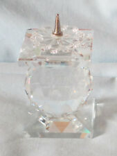 Swarovski Silver Crystal Single Ball Pin Candle Holder