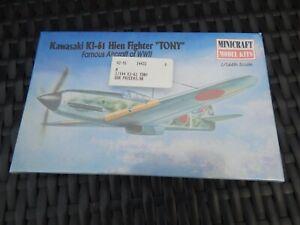 "Minicraft 14432 1/144 Kawasaki Ki-61 Hien ""Tony""  Model Kit in shrinkwrap"