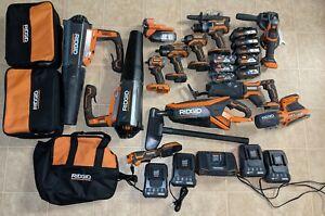 Ridgid 18V Brushless and Octane Tool Set