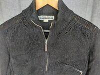 Jean Paul Gaultier Homme Objet black wool sweater medium