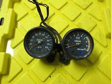 1976 76 Yamaha DT400 DT 400 Speedometer Tachometer Gauges