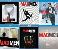MAD MEN Complete SEASON 1 2 3 4 5 6 Blu-ray Set Collection Lot Bundle Series TV