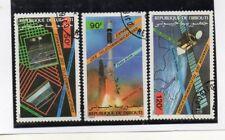 Yibuti Espacio Telecomunicaciones serie del año 1985 (DQ-115)
