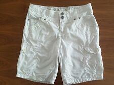 Chiemsee shorts S M weiß clear white bermuda cargoshorts kurze Hose Plusminus