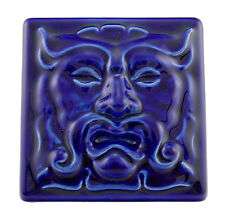 Zsolnay Blue Eosin Tile - Prometheus