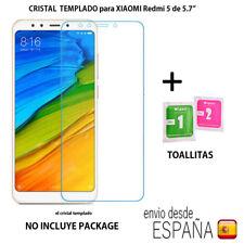 """Cristal templado protector de pantalla para Xiaomi REDMI 5 de 5.7"""" 0,3mm 9H 2.5D"""