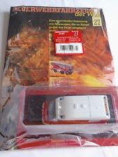 Pompiers VSAB Peugeot BOXER PICOT 2,5d en 1:57 AVEC FASCICULE NEUF neuf dans sa boîte, voir photo