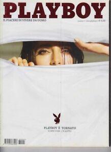 PLAYBOY-ITALIANO 2008  NUM.1--SARAH- CATERINA MURINO NO POSTER
