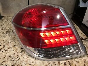 2007 2008 2009 Saturn Aura Tail Light Left  (driver side)