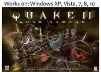 Quake II 2 Quad Damage + Elder Scrolls Arena + Daggerfall PC Win XP Vista 7 8 10