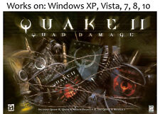 Quake II 2 Quad Damage + Elder Scrolls Arena + Daggerfall PC Win XP Vista 7 8 10