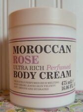 CREIGHTONS MOROCCAN ROSE ULTRA RICH PERFUMED BODY CREAM 16.06 OZ TUB