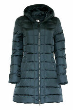 The North Face Women GOTHAM Hooded Parka Goose Down Navy Jacket Coat Size XS New