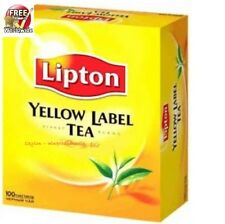 Lipton Yellow label 100 Tea Bags 200g - The Single Origin Pure Ceylon Tea