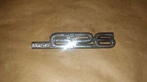 "MAZDA 626 EMBLEM LOGO BADGE  7"" LONG"