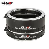 Viltrox DG-Z Macro Extension Tubes 12mm 24mm Adapter AF for Nikon Z Mount Camera