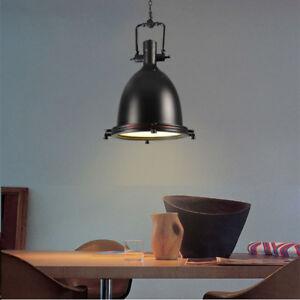 Large Chandelier Lighting Bar Black Pendant Light Kitchen Modern Ceiling Lamp