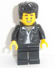 Lego Rocker Man Minifig & Black Hair x 1 HAIR CHOICE AVAILABLE SEE PICTURES