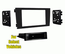 Car Stereo Radio Install Dash Bezel Mount Face Trim Kit for 2000-2003 Audi A6