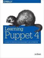 Learning Puppet 4 by Jo Rhett (2016, Paperback)