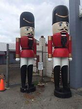 16' Giant Large Huge Grand Nutcracker Police Christmas Fiberglass Store Display
