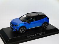 Peugeot e-2008 GT Line de 2020  au 1/43 de NOREV 472861