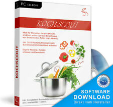 Kochscout Software Zutaten, Rezepte,Kalkulation,BLS,Rezeptverwaltung,Nährwerte