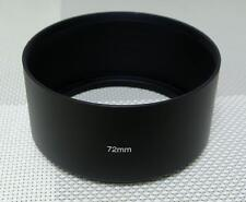 72 mm Metal Camera Lens Hood for 72mm Filter Thread Tele Lens MH-72T