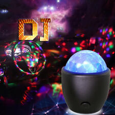 2018 Mini stage light USB powered Sound actived Multicolor Disco ball magic lamp