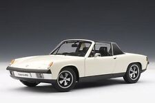 1970 Porsche 914/6 Light Ivory 1 18 AUTOart 77933