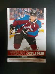Tyson Barrie 2012-13 12-13 Upper Deck Young Guns Series 1 Rookie Card RC, Oilers